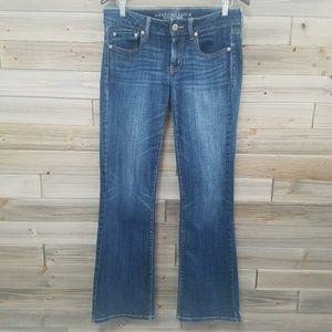 AEO | Favorite Boyfriend Medium Wash Jeans 6L Long